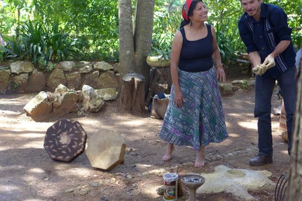 Temazcalmeisterin aus Guatemala