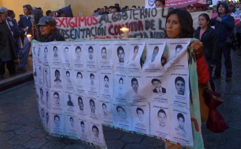 Petition für 43 Verschwundene